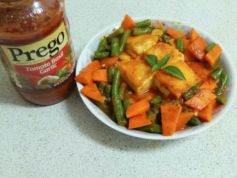 茄汁雙蔬豆腐