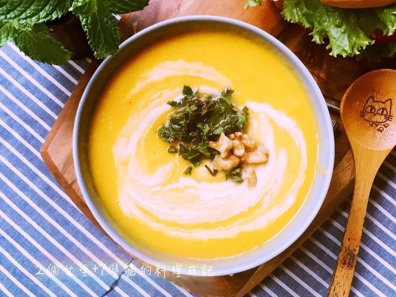 薑汁紅蘿蔔冷湯