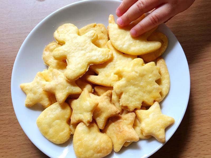 無鹽糖 蛋黃酥餅 BB 餅乾 嬰兒食譜