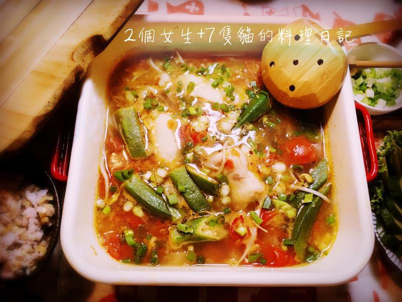 酸酸辣辣-越式酸辣魚片湯