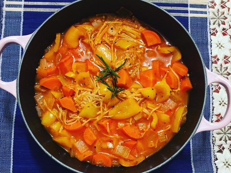 番茄蔬菜湯[ Prego ]