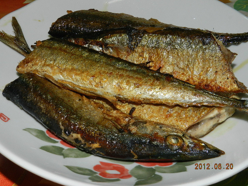 ㄚ曼達的廚房~香煎秋刀