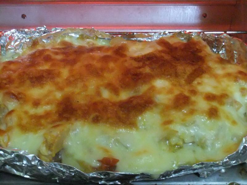ღ小吟愛做菜ღ 蕃茄玉米洋蔥蛋焗烤