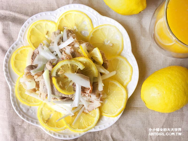 黃檸檬豬肉沙拉。新手也能輕鬆上手