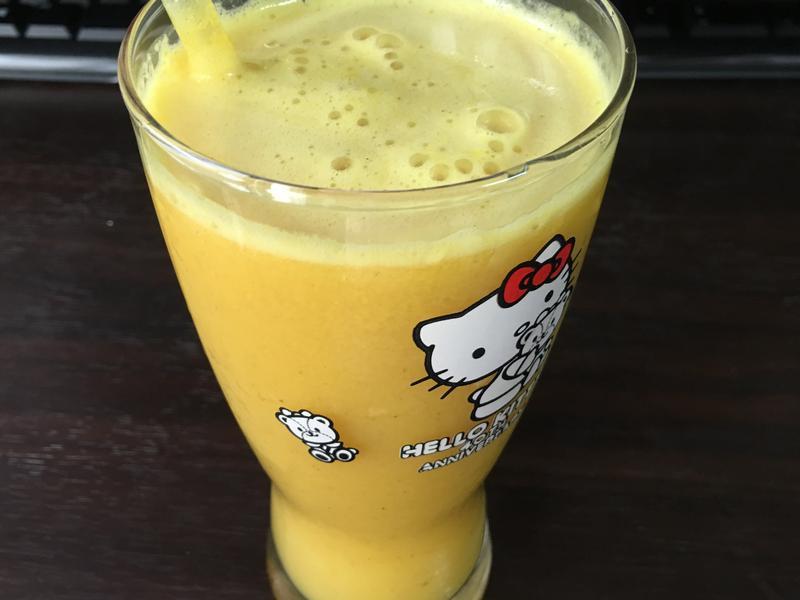 夏日百香果汁