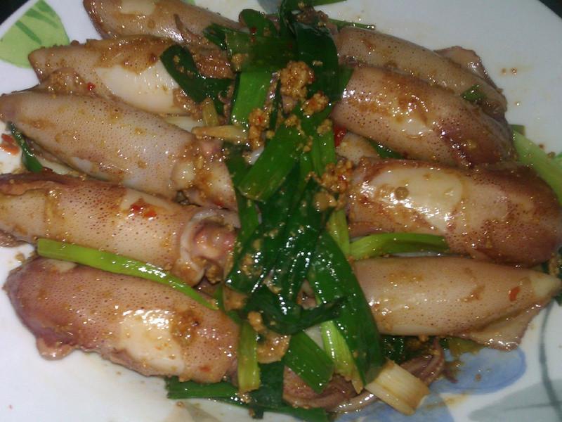 魚卵辣椒醬燒小捲兒