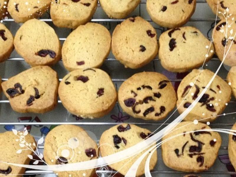 【以樂自然初食】蔓越莓奶酥手工餅乾-無泡打粉