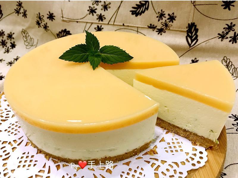 🍋檸檬多多凍乳酪蛋糕🍋 6吋、免烤箱