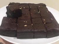 香蕉巧克力布朗尼(濕潤紮實口感)