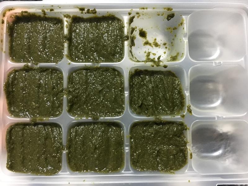 【副食品】紅莧菜泥 電子鍋烹飪
