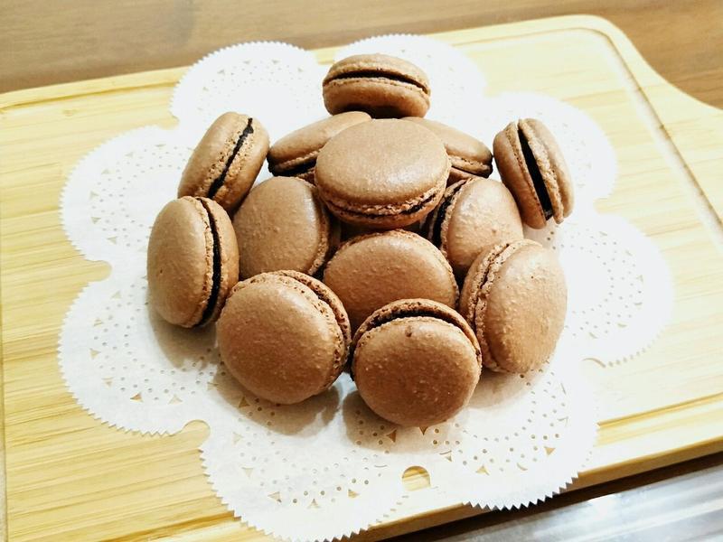法式馬卡龍(巧克力)🍫