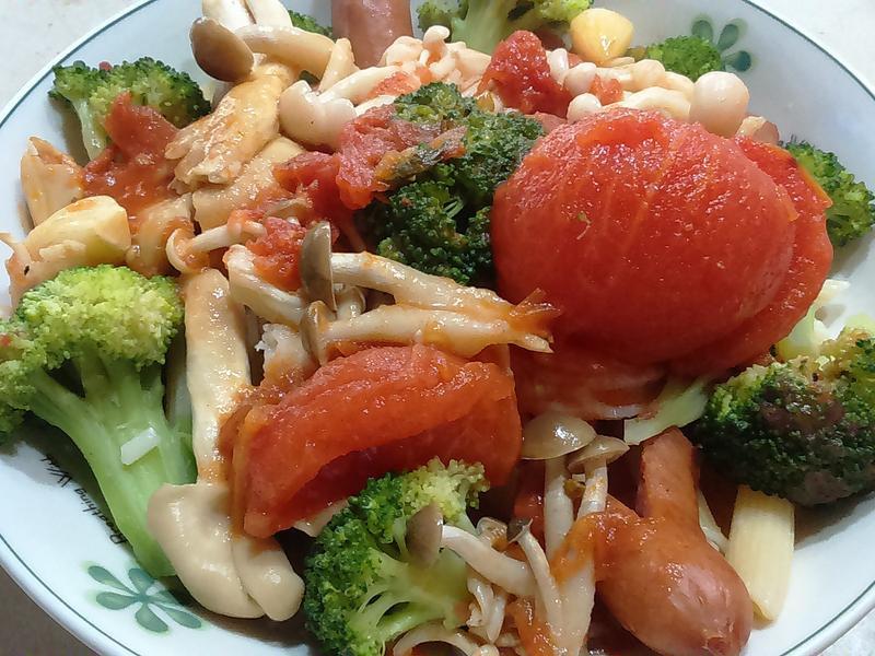番茄筆管義大利麵