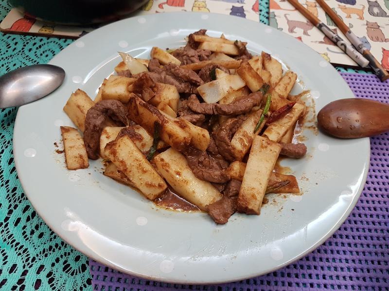 沙茶竹筍牛柳