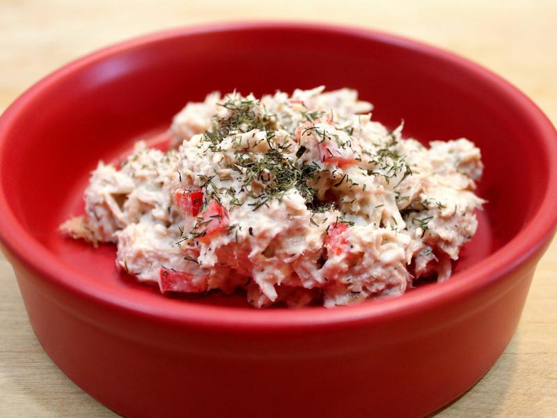 香料鮪魚沙拉