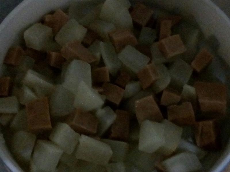 電鍋版白蘿蔔料理