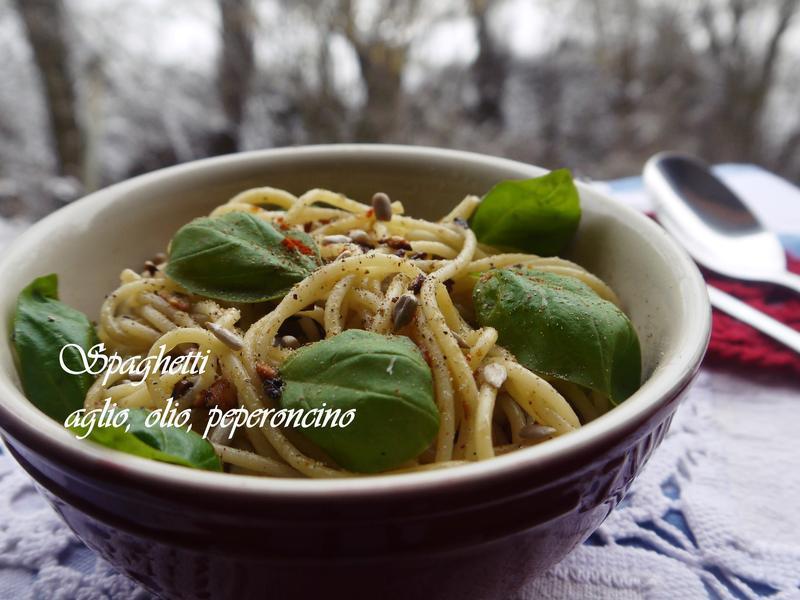 義大利 蒜味Spaghetti A.