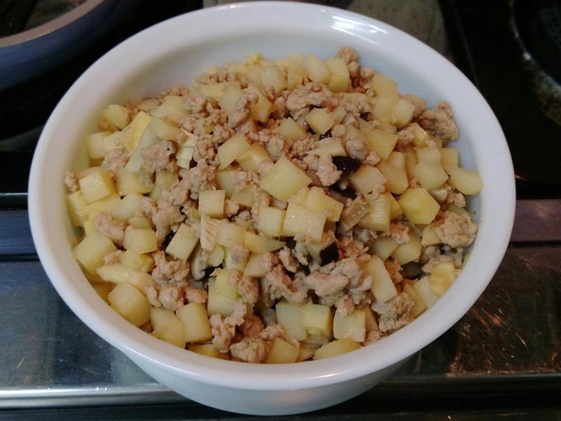 竹筍炒絞肉