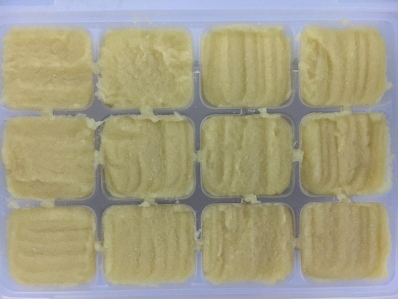 【副食品】玉米筍泥 電子鍋烹飪
