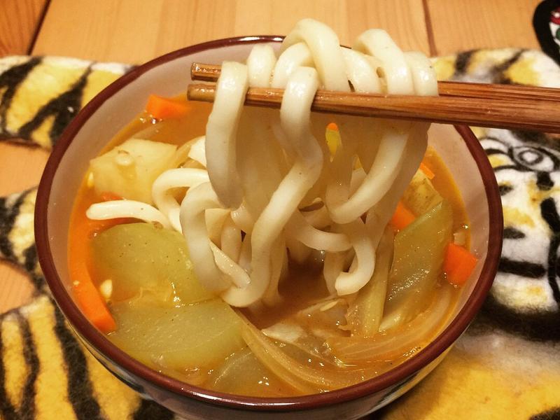 咖喱烏龍湯麵
