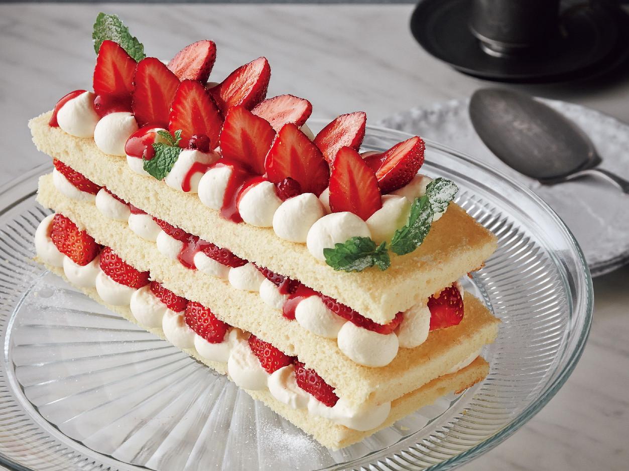 東販小食堂:草莓牛奶蛋糕