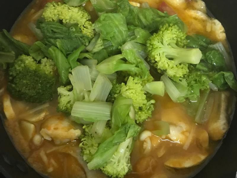 紅吱吱蔬菜燉肉