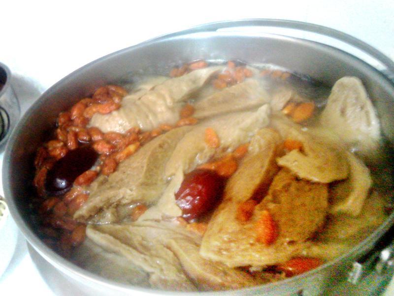 藥膳豆筍  素食清湯(全素)