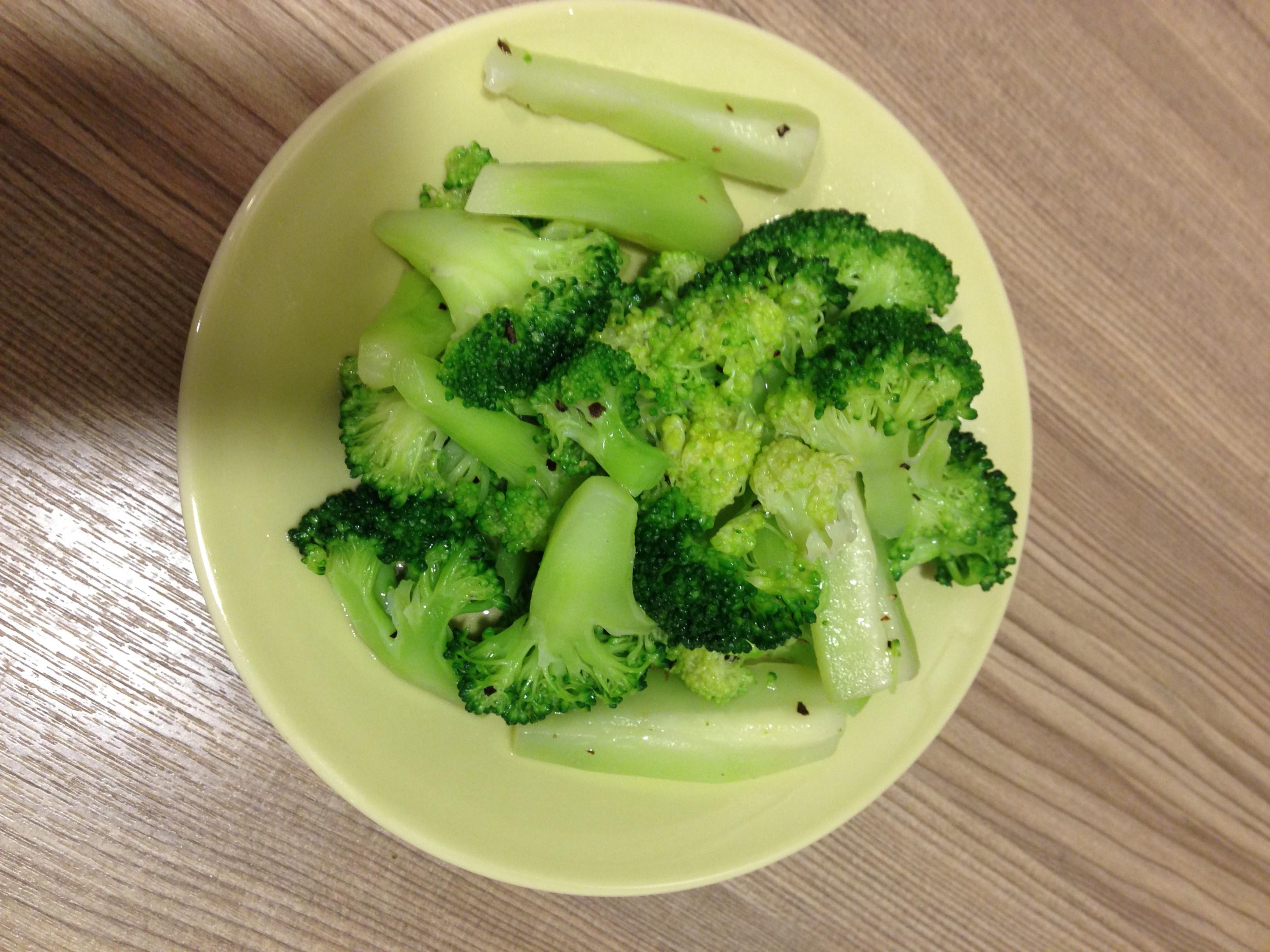 靑燙花椰菜