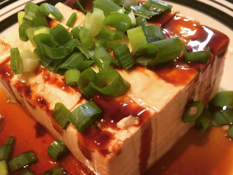 兩分鐘料理《蔥豆腐》
