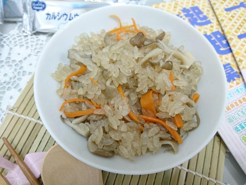 【低蛋白】舞茸低蛋白炊飯