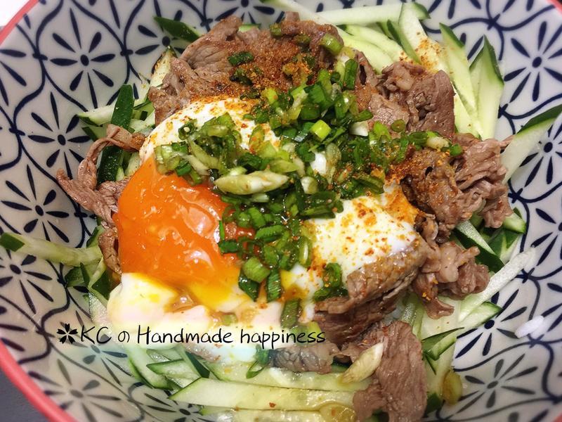 牛肉蔥丼飯🍚[簡易清爽]