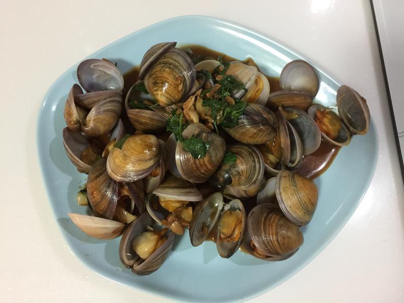 Mimima❤️熱炒店炒蛤蜊(赤嘴蛤蜊)