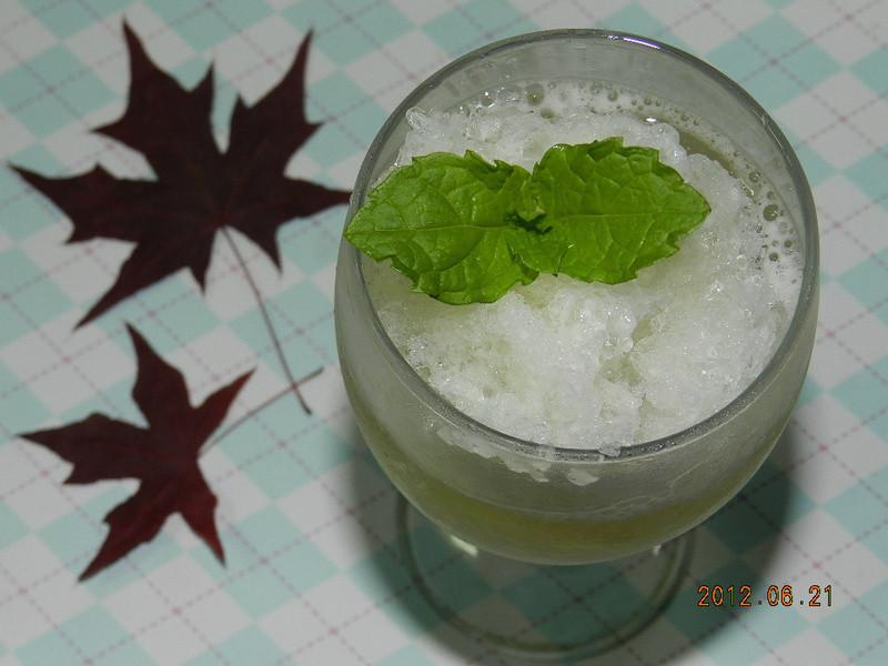 ㄚ曼達的廚房~綠茶氣泡飲