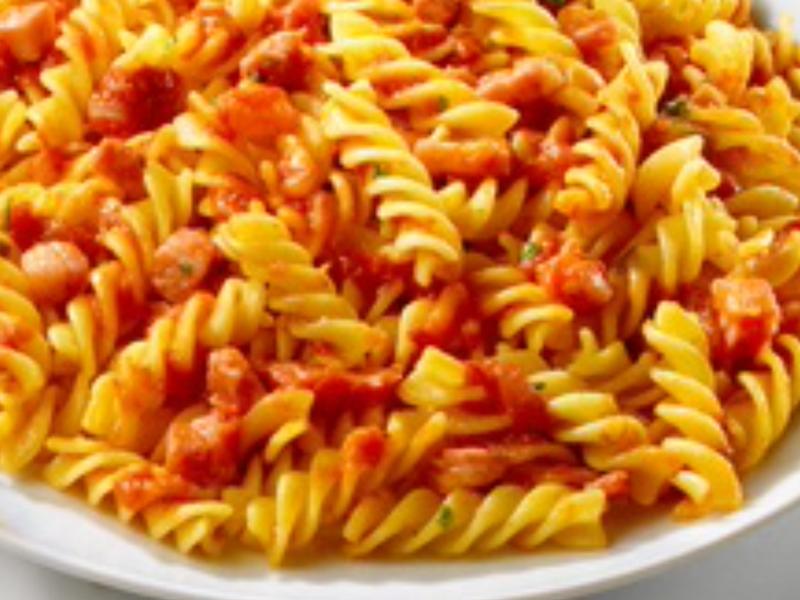紅醬義大利麵