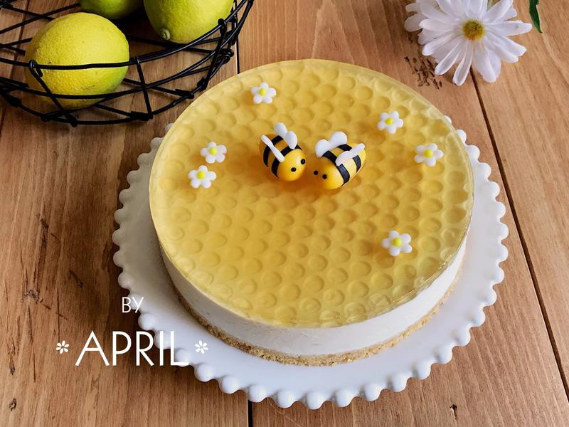 蜂蜜檸檬生乳酪蛋糕 (免烤箱)
