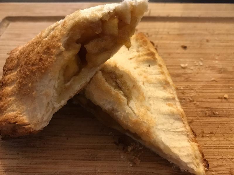 💡簡易版~用吐司也能做🍎蘋果派🍎