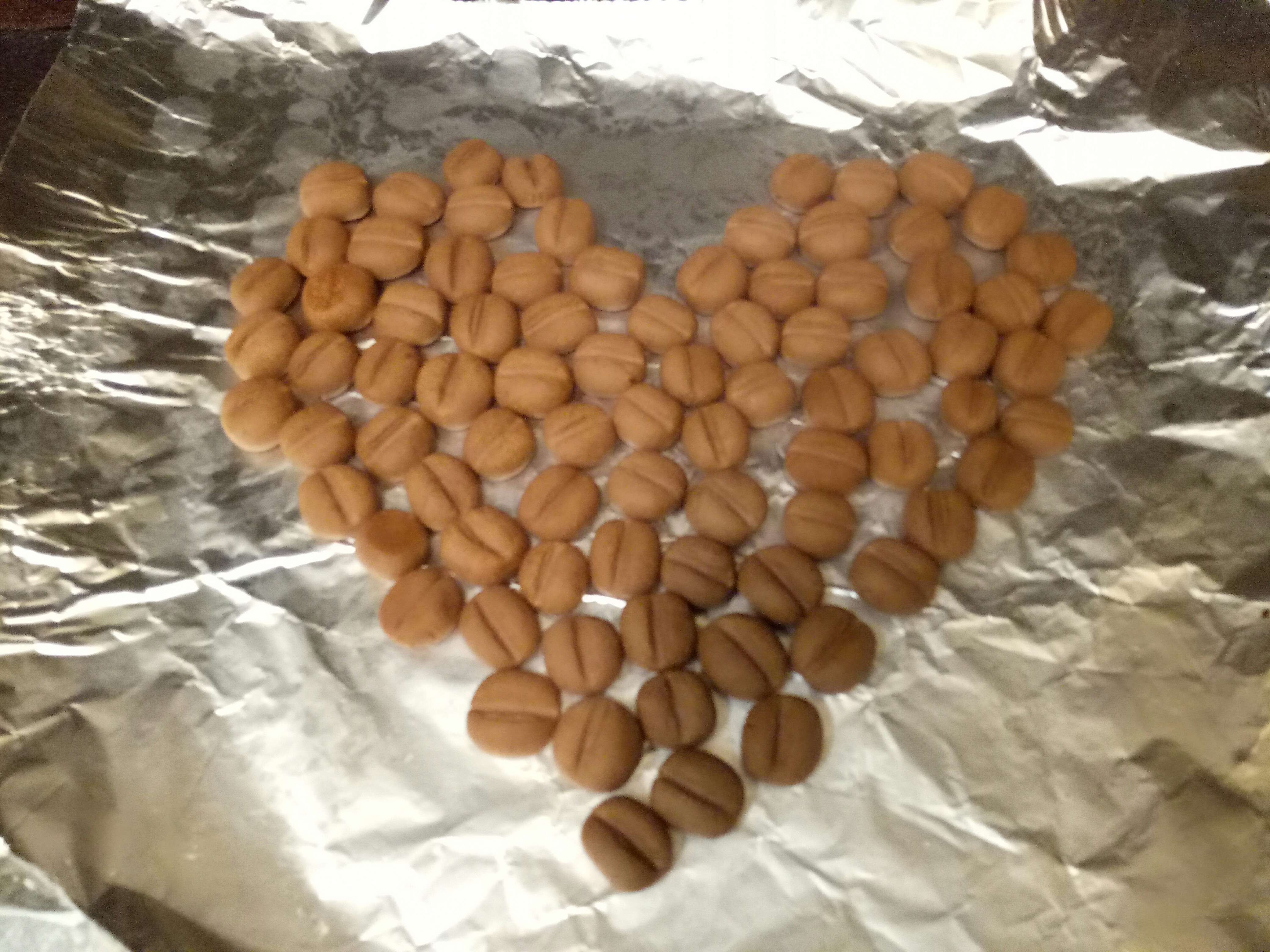 咖啡豆餅乾(巧克力口味)