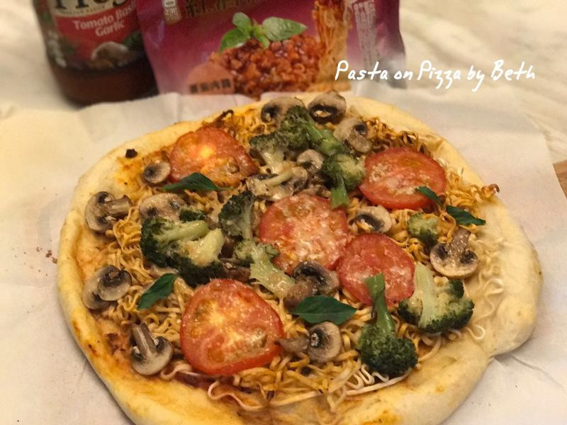 義大利麵披薩[紅酒帕式達][Prego]