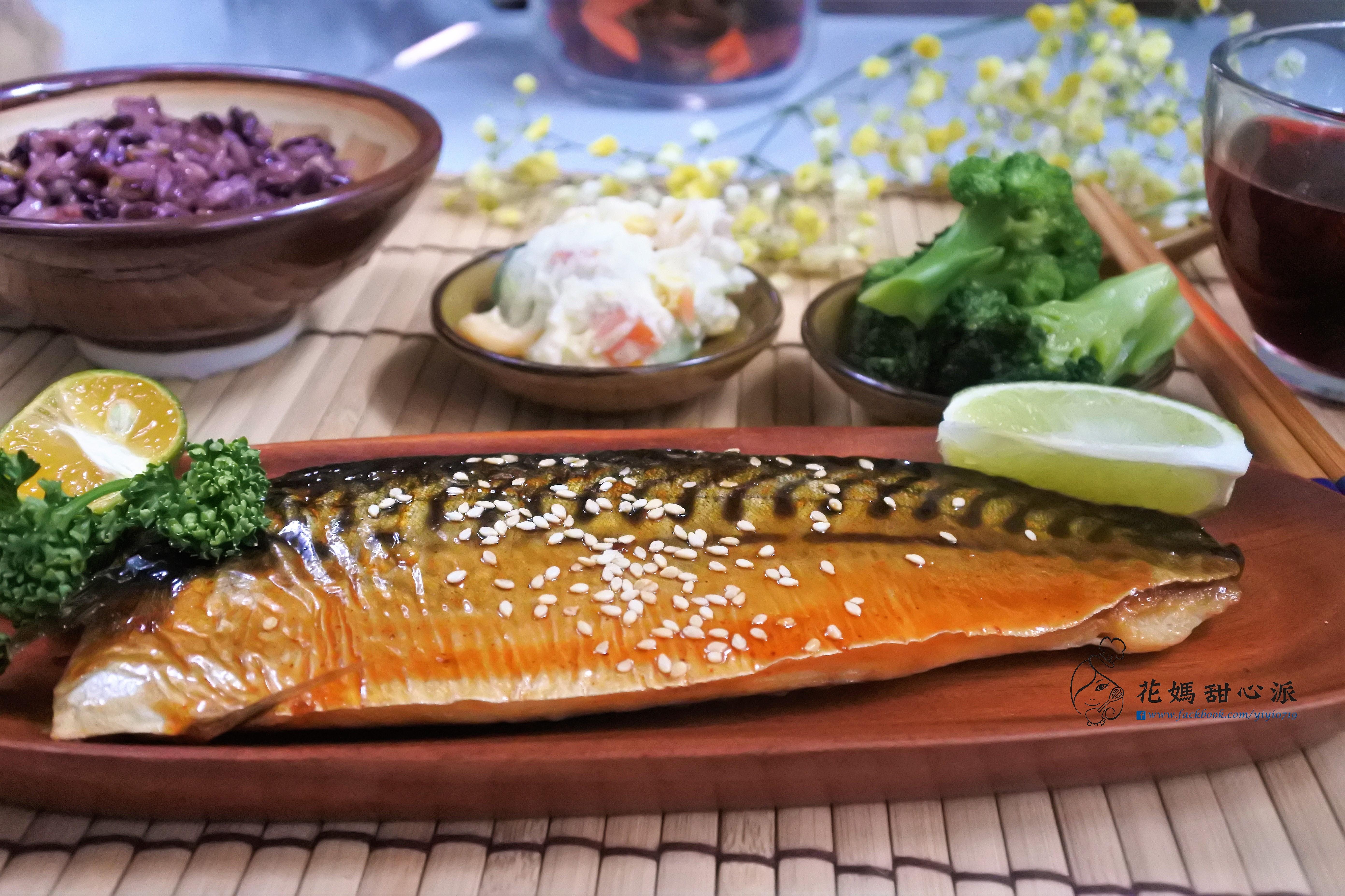 日式鯖魚定食