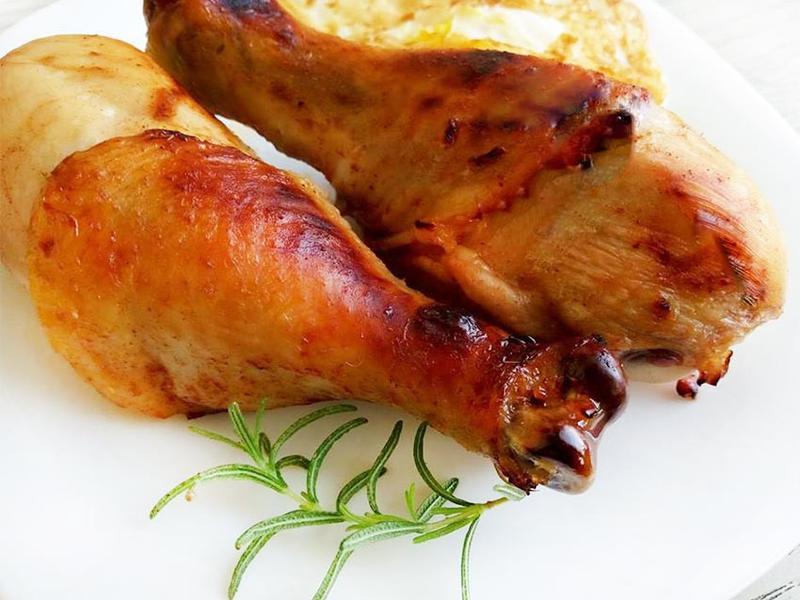 味噌烤雞腿♪