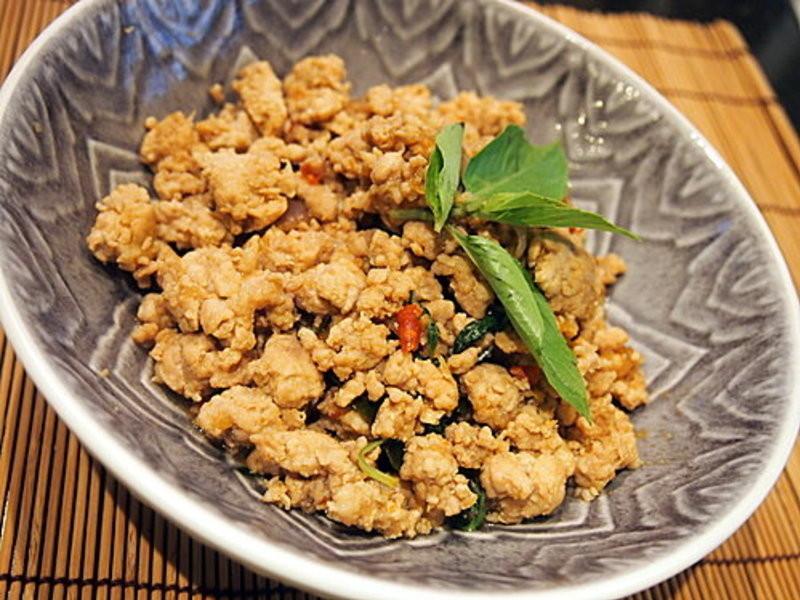 【OL醉愛廚房】泰式羅勒炒豬肉