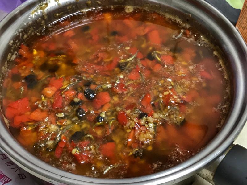 豆豉小魚乾辣椒