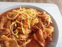 韓式黃豆芽炒豬肉--콩불콩나물불고기