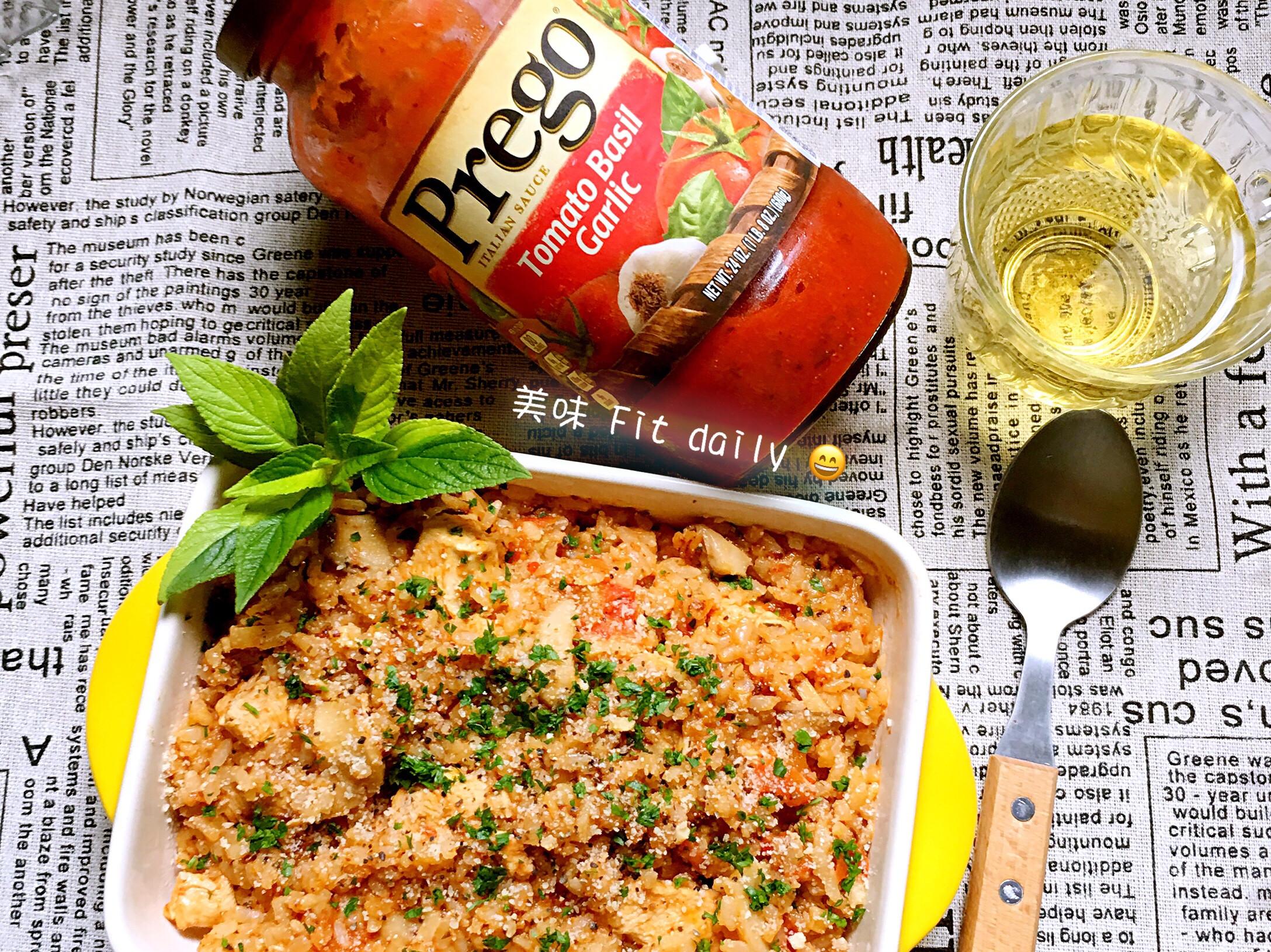 整顆蕃茄燉飯【Prego 義大利麵醬】