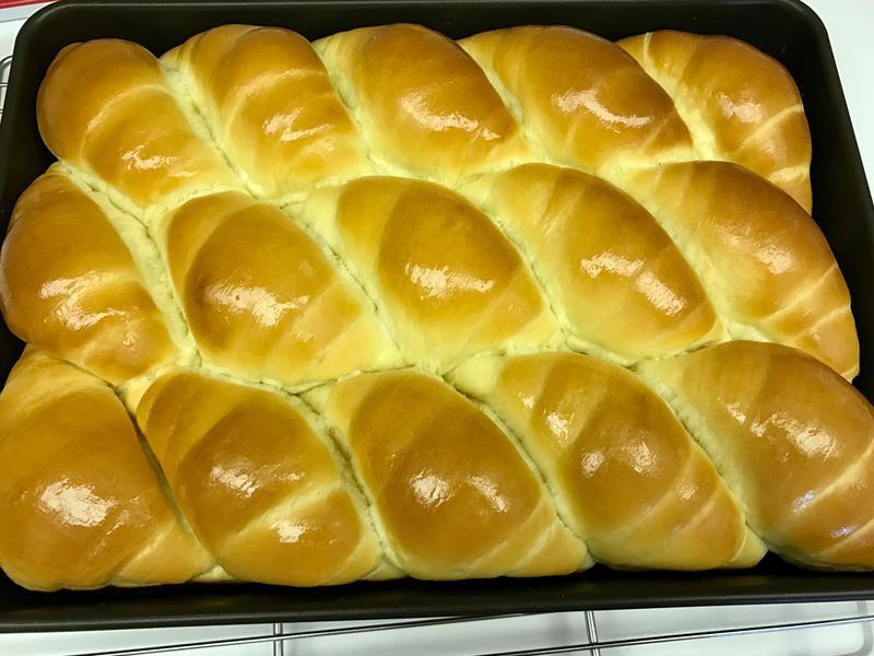 奶香麵包捲