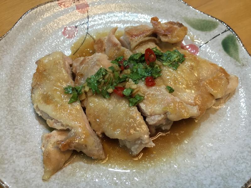 泰式椒麻雞(無裹粉,無油炸)