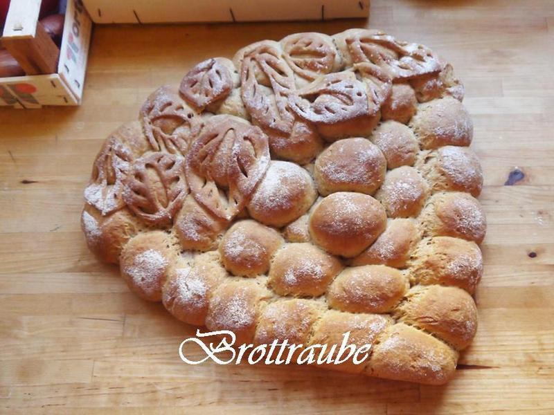 德國 黑麥麵包葡萄