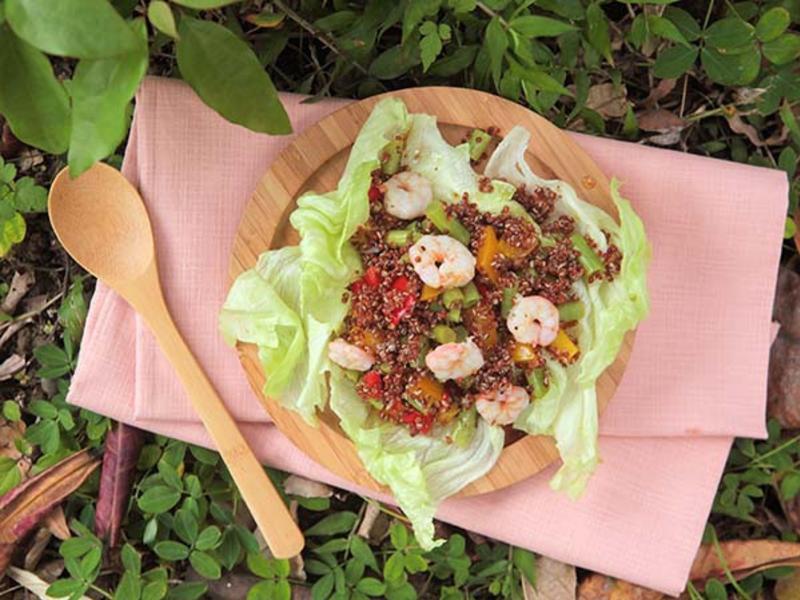 藜麥彩蔬溫沙拉