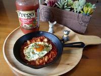焗烤波波蛋-Prego 義大利麵醬