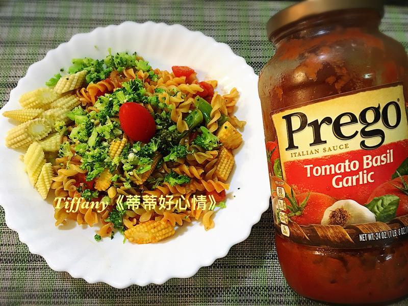 健康蔬食義大利麵