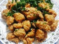 蒜味鹹酥雞